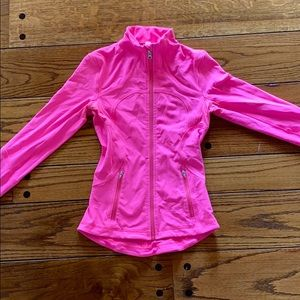 Lululemon Hot Pink Define Jacket